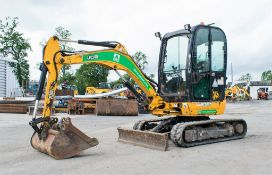 JCB 8025 ZTS 2.5 tonne rubber tracked mini excavator Year: 2014 S/N: 2226534 Recorded Hours: 2210