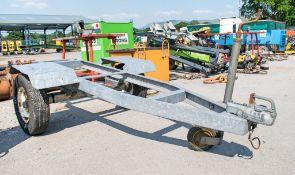 Axles 750 kg single axle trailer HS043