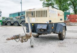 Ingersoll Rand 7/31E diesel driven fast tow air compressor/generator Year: 2007 S/N: 348699 Recorded