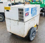 Stephill SE6000 6 kva 110v/240v diesel driven generator A857600