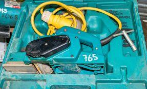 Makita 110v planer c/w carry case HS 10665