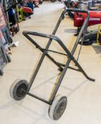 Pipe threading machine stand/trolley VP