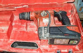 Hilti TE6-A36 36v cordless rotary hammer drill c/w battery & carry case A620043
