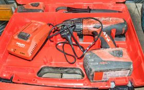 Hilti SFH 22-A 22v cordless rotary hammer drill c/w 2 batteries, charger & carry case A738780
