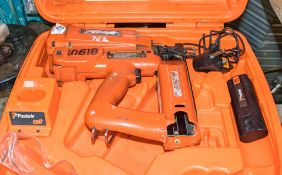 Paslode nail gun c/w battery, charger & carry case HS 10618