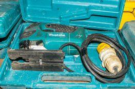 Makita 110v jigsaw c/w carry case A645375