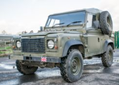 Land Rover Defender 90 Wolf 300 TDI 4wd TUL hard top utility vehicle (EX MOD) Date into Service:
