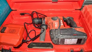 Hilti TE6-A36 36v cordless SDS rotary hammer drill c/w battery, charger & carry case A746944