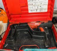 Hilti DX460-ES nail gun c/w carry case E0002155