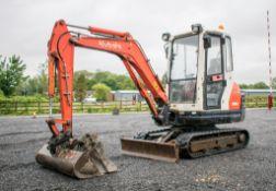 Kubota KX61-3 2.6 tonne rubber tracked mini excavator Year: 2012 S/N: 79169 Recorded Hours: 3331