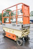 JLG 1930ES battery electric scissor lift Year: 2011 S/N: 24915 Recorded Hours: 215 A554488