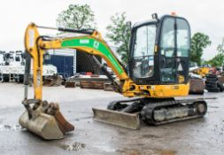 JCB 8025 ZTS 2.5 tonne rubber tracked mini excavator Year: 2015 S/N: 2226843 Recorded Hours: 1146
