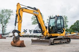 JCB 8085 Eco ZTS 8.5 tonne rubber tracked excavator Year: 2013 S/N: 1073077 Recorded Hours: 93412 (