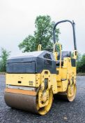 Bomag BW80 ADH-3 double drum ride on roller Year: 2005 S/N: 425695 Recorded Hours: 1241 RTD033