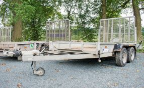 Indespension 10ft x 6ft tandem axle plant trailer A643315