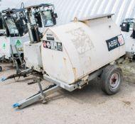 Western Abbi 950 litre site tow bunded fuel bowser ** Parts missing & dismantled ** PF1345