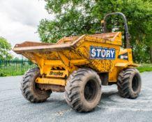 Thwaites 9 tonne straight skip dumper Year: 2008 S/N: 6982 Recorded Hours: 4104 Reg: PX08 FNK 890