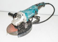 Makita GA9050 230mm 110v angle grinder ** Cord cut off ** H/S035