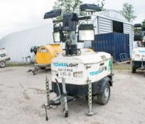 Tower Light VB-9 diesel driven fast tow lighting tower Year: 2013 S/N: 1302876 Recorded Hours: