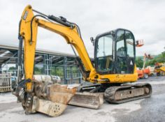 JCB 8055 RTS 5.5 tonne rubber tracked excavator Year: 2013 S/N: 2060572 Recorded Hours: 4404