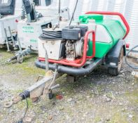 Brendon diesel driven fast tow water bowser/pressure washer c/w hose & lance A630262