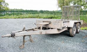 Indespension 8ft x 4ft tandem axle plant trailer A536716