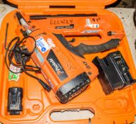 Paslode Impulse nail gun c/w battery, charger & carry case A824773