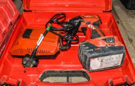 Hilti SID22-A 22v cordless screw gun c/w battery, charger & carry case A695883
