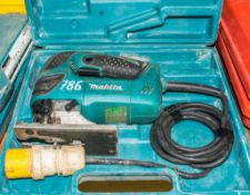 Makita 110v jigsaw c/w carry case A645377