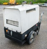 MHM MG6000 6 kva 110v/240v diesel driven generator A690830
