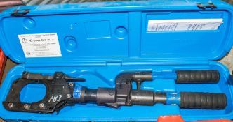 Cembre manual hydraulic crimping tool c/w carry case A664945