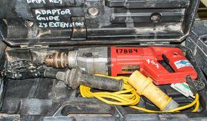 Milwaukee 110v rotary hammer drill c/w carry case HS 17889