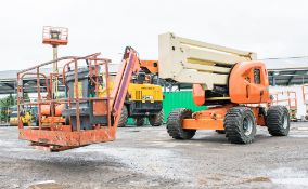 JLG 450AJ 45 ft diesel driven 4WD articulated boom lift Year: 2008 S/N: 5149 Recorded Hours: 2283