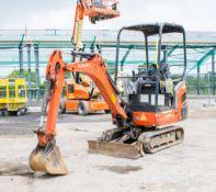 Kubota KX016-4 1.5 tonne rubber tracked mini excavator Year: 2014 S/N: 57574 Recorded hours: 1499