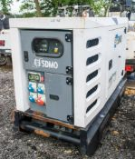 SDMO 33 Kva diesel driven generator Year: Recorded Hours: 15443 A576166