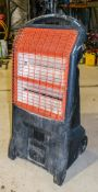 Rhino TQ3 110v infra red heater HS004 ** 1 tube missing **