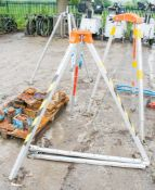 Personnel safety tripod