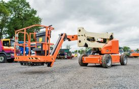 JLG E450AJ battery electric articulated boom access platform Year: 2014 S/N: 189435 Recorded
