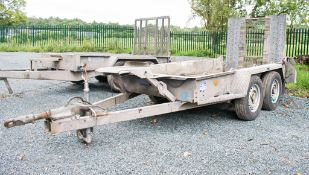 Ifor Williams 8ft x 4ft tandem axle plant trailer A621071