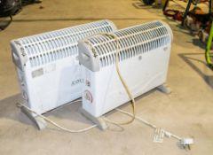 2 - 240v heaters