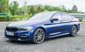 BMW 530d X drive M Sport auto 4 door saloon car Registration Number: YD17 UCW Date of