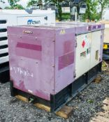 Arc Gen Denyo 30 Kva diesel driven generator Year: 2011 Recorded Hours: A576334