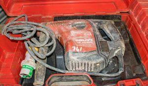 Hilti TE40 110v rotary hammer drill c/w carry case A656538