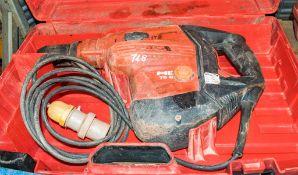 Hilti TE80-ATC/AVR 110v SDS rotary hammer drill c/w carry case A666101