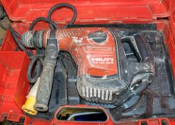Hilti TE40-AVR 110v rotary hammer drill c/w carry case A626046