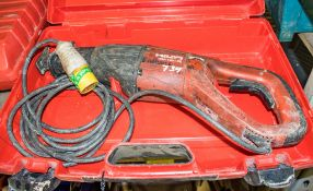 Hilti WSR 1400-PE 110v reciprocating saw c/w carry case A610026