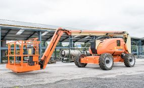 JLG 600AJ 60 ft diesel driven 4WD articulated boom lift Year: 2008 S/N: 123422 Recorded Hours: