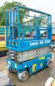 Genie GS1932 battery electric scissor lift Recorded Hours: 1465