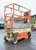 JLG 1930ES battery electric scissor lift Year: 2011 S/N: 24821 Recorded Hours: Not readable (Clock