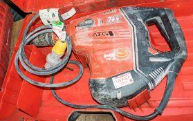 Hilti TE80-ATC/AVR 110v hammer rotary drill c/w carry case A666102